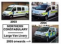 Northern Constabulary large van liveries 2003 to 2005 (8355148675).jpg