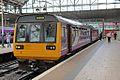 Northern Rail Class 142, 142034, platform 1, Manchester Piccadilly railway station (geograph 4512165).jpg