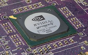 English: Nvidia Geforce Ti 4600 Graphics Proce...