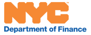 New York City Department of Finance - Image: Nyc finance logo website