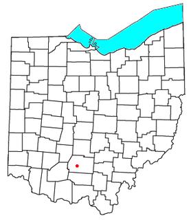 Bourneville, Ohio human settlement in Ohio, United States of America