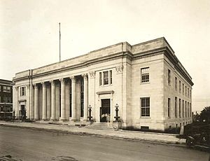 United States Post Office and Courthouse (Tulsa, Oklahoma) - The building as it appeared in 1917.