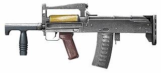 OTs-14 Groza assault rifle