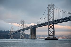 San Francisco–Oakland Bay Bridge - The western section of the San Francisco-Oakland Bay Bridge