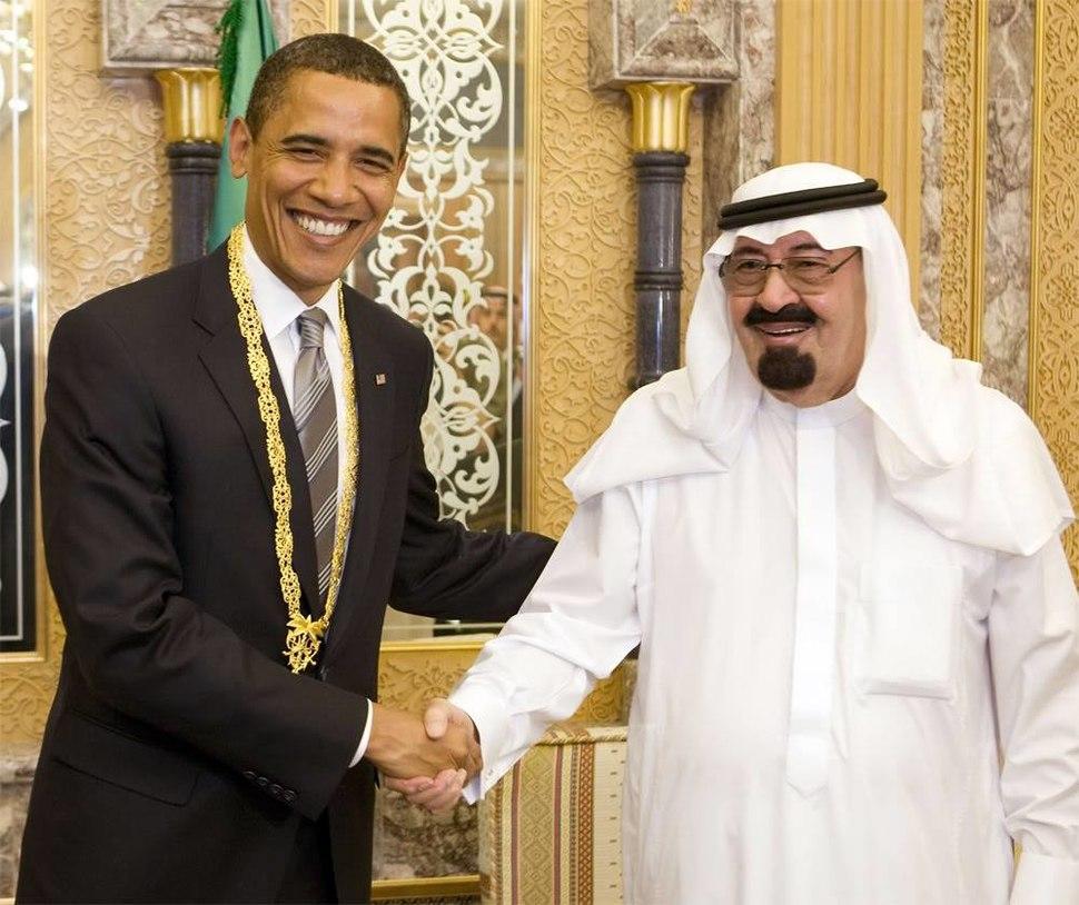 Obama meets King Abdullah July 2014