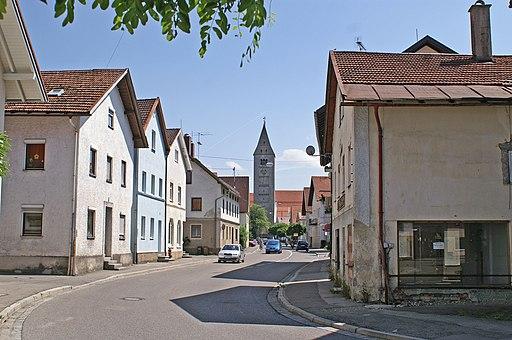 Obergünzburg Unterer Markt Nr 23 abwärts v N