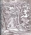 Oberneulander Landstraße, Bremen - Johann Georg Walte - 1850.jpg