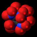 Octanitrocubane molecule spacefill.png