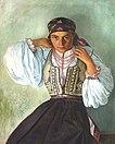 Octavian Smigelschi - Lina cu margele.jpg