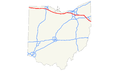 Ohio Turnpike map.png