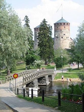 Southern Savonia - Image: Olavinlinna in Savonlinna Finland