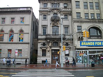 Jamaica Savings Bank - The old Jamaica Savings Bank Building as seen from the northeast corner of Jamaica Avenue and 161st Street.