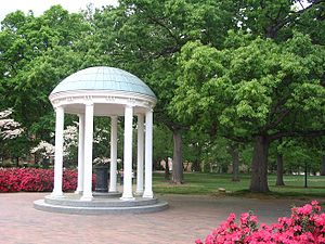 The Old Well and McCorkle Place at the Univers...