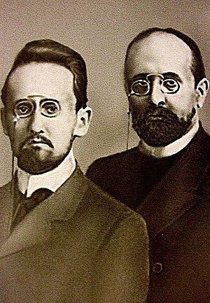 Sergey Oldenburg - Sergei Oldenburg and his brother Fyodor
