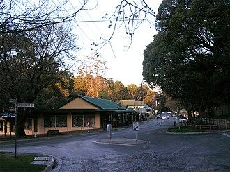 Olinda, Victoria - Olinda township