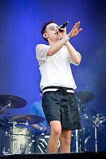 Years & Years British synth-pop act