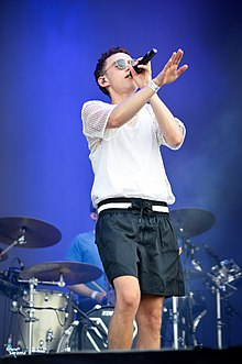 Olly Alexander Performing at Sziget Festival 2016, Budapest, Hungary.jpg