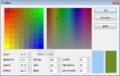 Ooo sélection de couleur RVB CMJN olivedrab.png