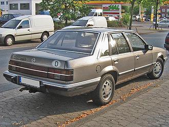 Opel Senator - Opel Senator A2 rear