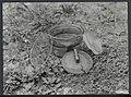 Opruimen van landmijnen bij Hoek van Holland. Een glazen mijn Glasmine 43 die , Bestanddeelnr 120-1028.jpg