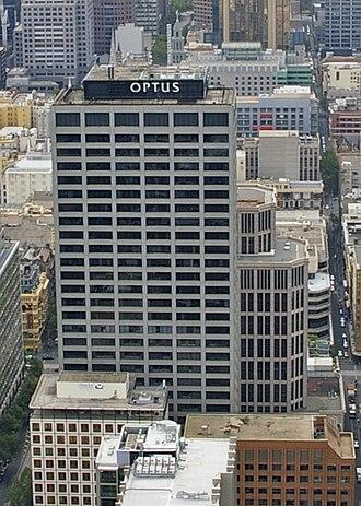 Optus - Optus building in Melbourne, Victoria