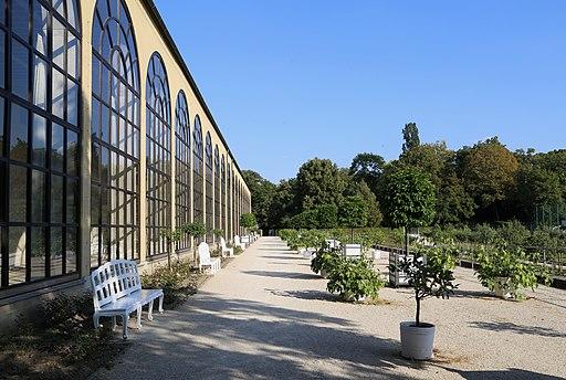 Orangerie im Südgarten der Wuerzburger Residenz