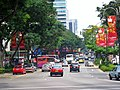 Orchard Rd E from Orange Grove Rd 2004.jpg