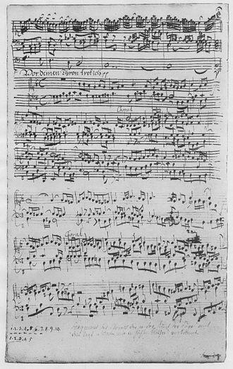 Great Eighteen Chorale Preludes - Image: Orgelwerke BWV668