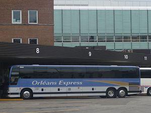 Orléans Express - Image: Orléans Express à Montréal