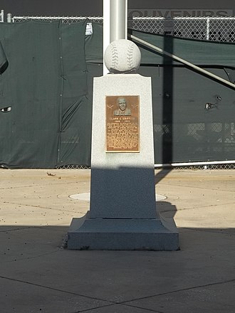 Clark Griffith - Memorial to Griffith at Tinker Field in Orlando