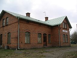 Ormaryds stationsbyggnad