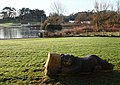 Ornamental Bear, Young's Park, Paignton - geograph.org.uk - 645888.jpg