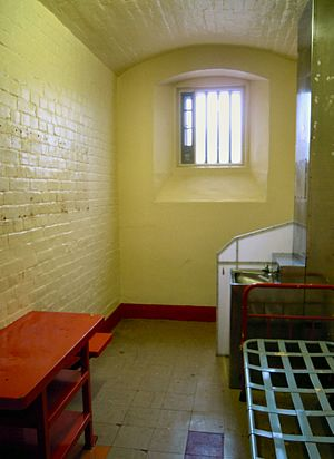 The Ballad of Reading Gaol - Wilde's cell in Reading Gaol as it appears today