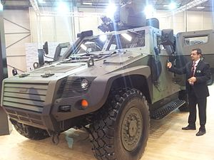Otokar Cobra - Cobra II in IDEF 2013