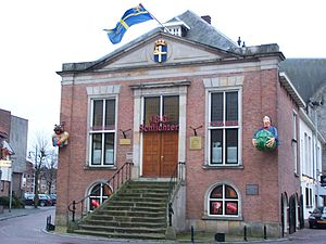 Oldenzaal - Former city hall of Oldenzaal
