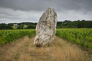Oudon - Image: Oudon Menhir 4