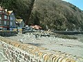 Outside the harbour at low tide Lynmouth - geograph.org.uk - 370780.jpg