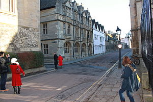 Merton Street - Image: Oxford Winter