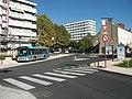 PEI de Cusset - GX 137 - Nouvelle intersection Bd CdG - Av Drapeau 2018-10-06.JPG