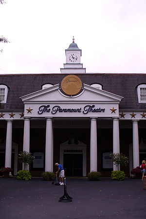 "Kings Dominion - The Paramount Theatre (Now known as ""Kings Dominion Theater"")"