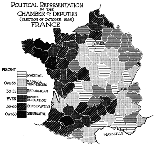 PSM V52 D502 Political representation in french elections of 1885.png
