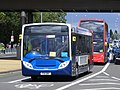 PX11 DNY 27752 Morecambe branding Stagecoach Events Olympic games vehicle (7713499236).jpg