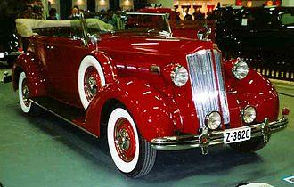 Packard One-Twenty - Image: Packard 120 B Convertible Sedan 1936