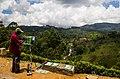 Painter drawing a landscape, Sri-Lanka, 2015-04-11.jpg