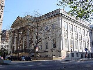 Palais Rasumofsky building in Landstraße, Austria