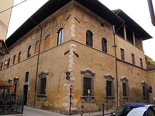building in Prato, Italy