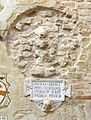 Palazzo vicariale di certaldo, cortile, stemma antinori.JPG