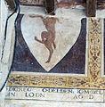 Palazzo vicariale di certaldo, loggia in facciata, stemma del benino.jpg