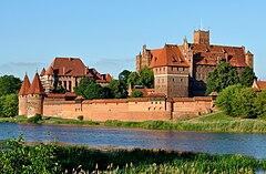 Największy zamek gotycki w Europie