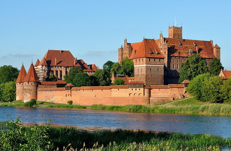Panorama of Malbork Castle, part 4